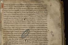 """Acte dans le """"Grand cartulaire de l'abbaye de Clairvaux"""""""
